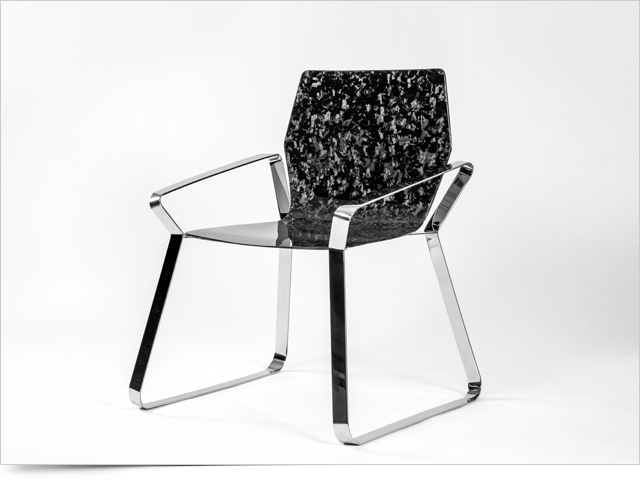 Carbon Fiber Chair HEXA by Mast Elements