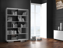 Carbon Fiber Bookcase OWEN by Mast Elements