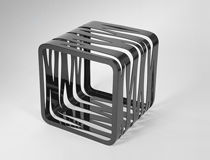 Carbon Fiber coffee table QUBE by Mast Elements