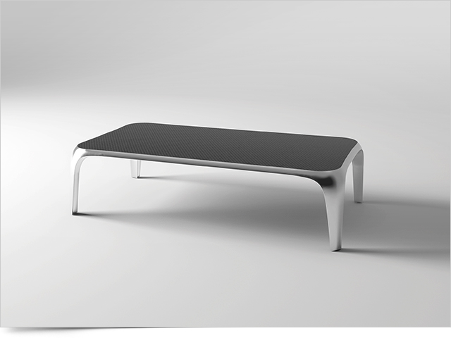 Carbon Fiber Coffee Table VOGUE C by Mast Elements